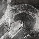 """""""Gesture 9""""; Silver gelatin photographic chemigram; 8"""" x 10""""; 2015"""