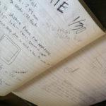 First meeting, Jason's sketchbook