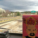 Driving the camera / box truck to Black Mountain ahead of {Re}Happening